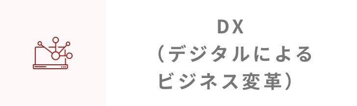 DX(デジタルによるビジネス変革)